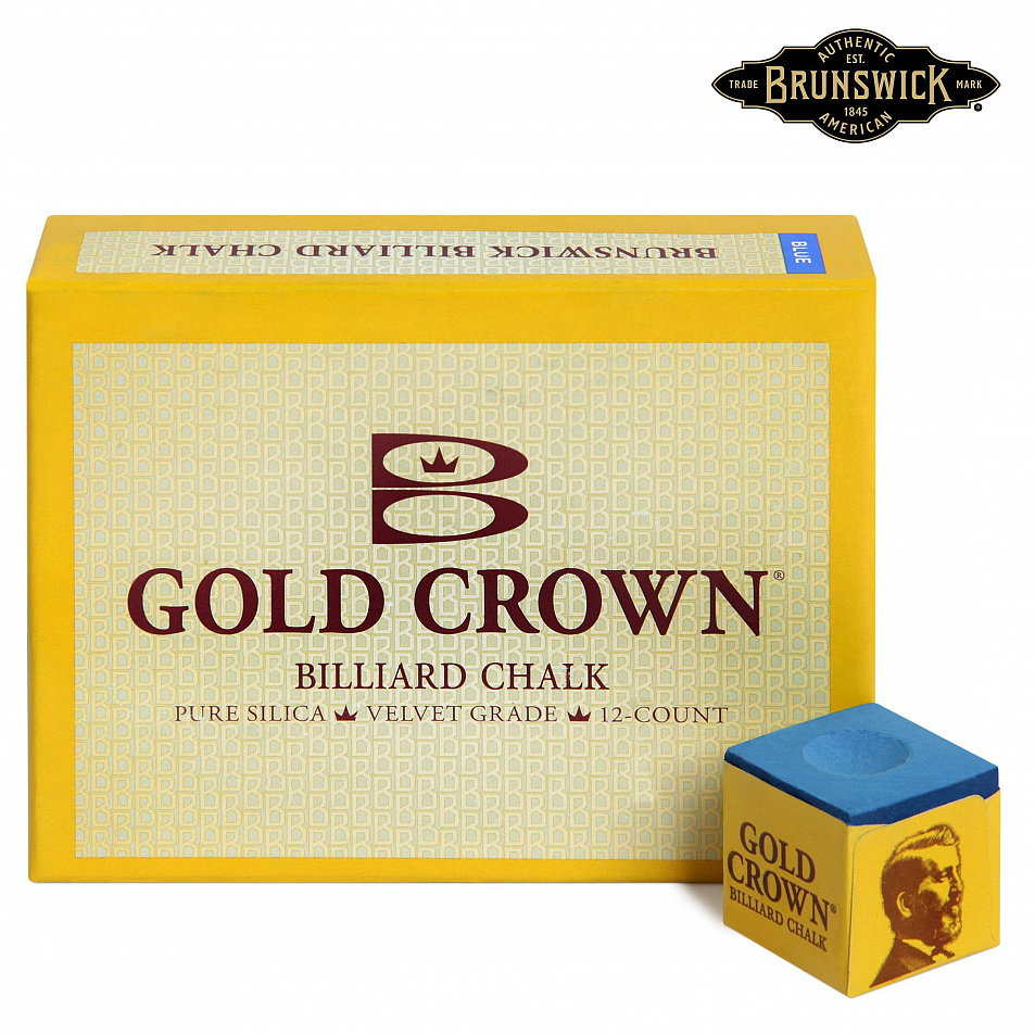Мел Brunswick Gold Crown Blue